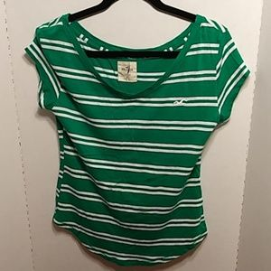 Two Hollister Short Sleeved T-Shirts